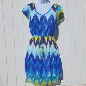 Rue21 Multicolor Pocket Dress
